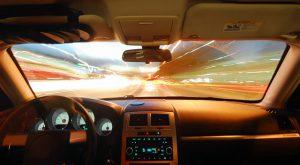conducción de día