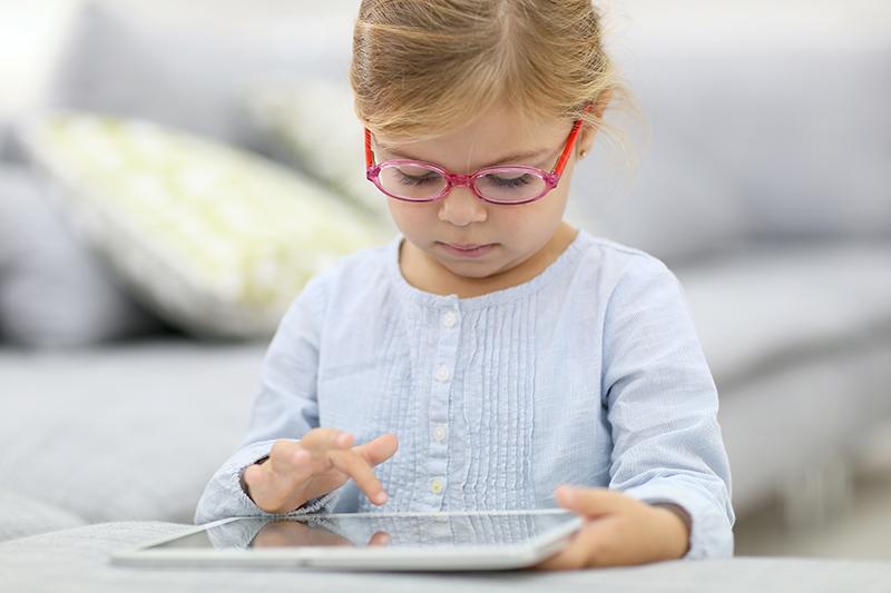 tablet niña