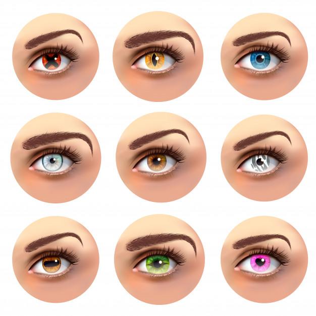 lentes de contacto de fantasía para Carnaval